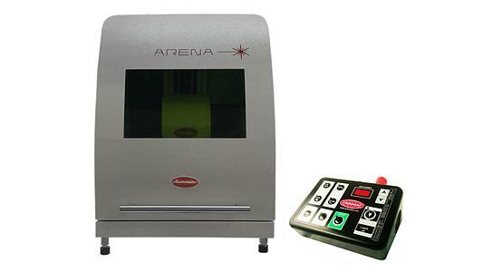 Laserové značenie - pracovisko Automator